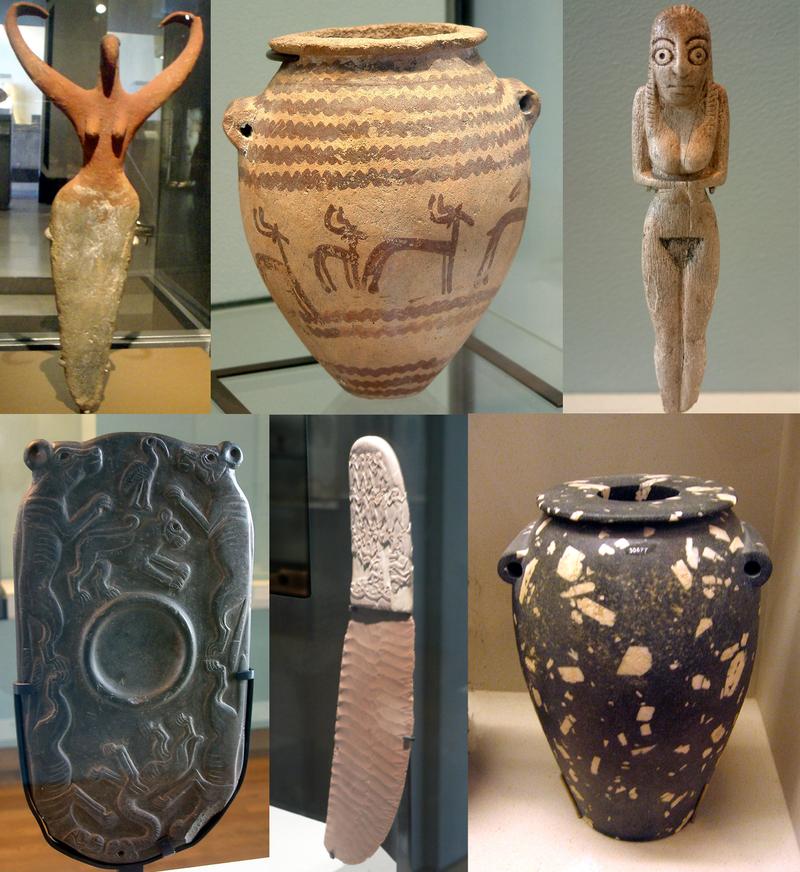 آثار الحضارات الأربعة