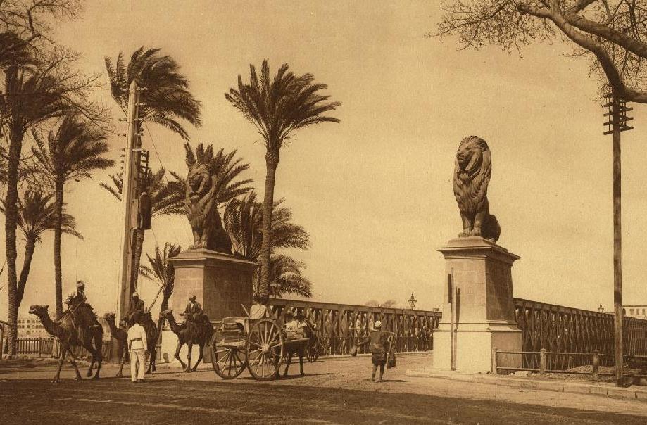 أسدي كوبري قصر النيل
