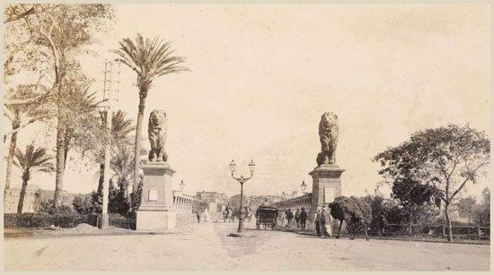 تاريخ كوبري قصر النيل