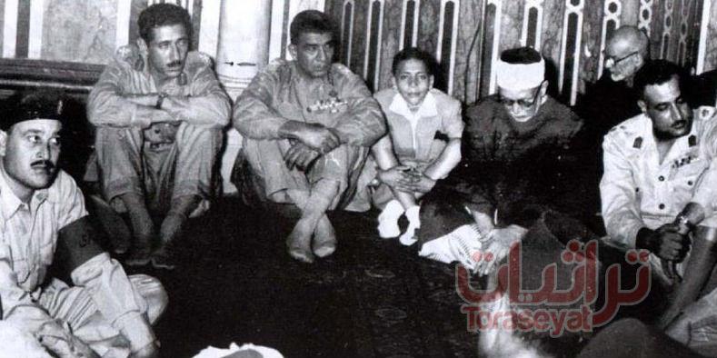 محمد نجيب في صلاة العيد