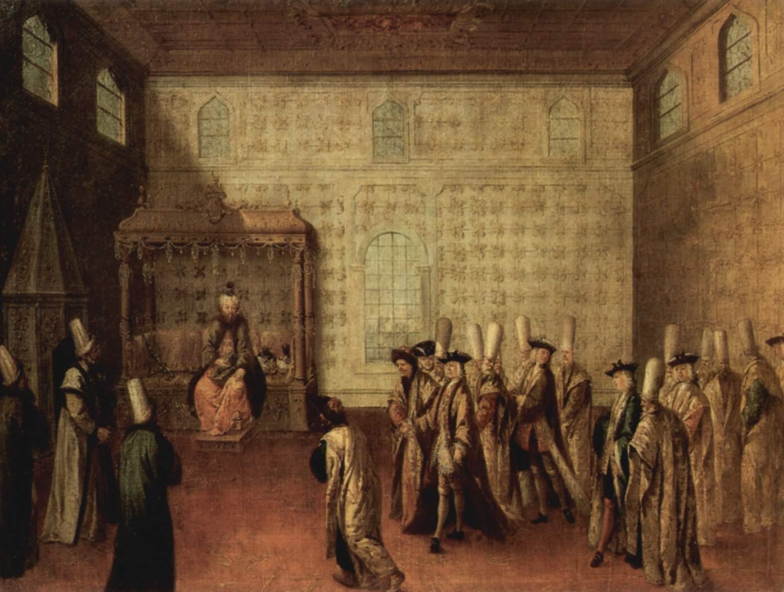 بلاط الحكم العثماني