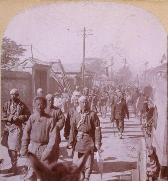 قوات الملاكمين في تيانجين
