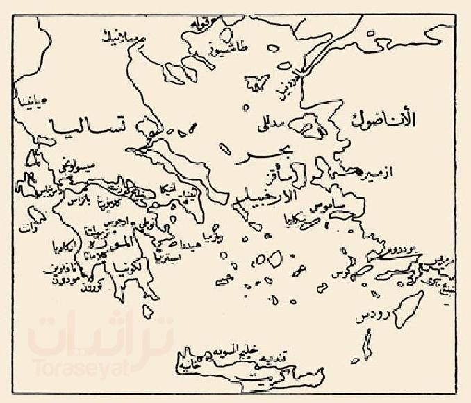 الأماكن التي استولى عليها الجيش المصري في حرب المورة