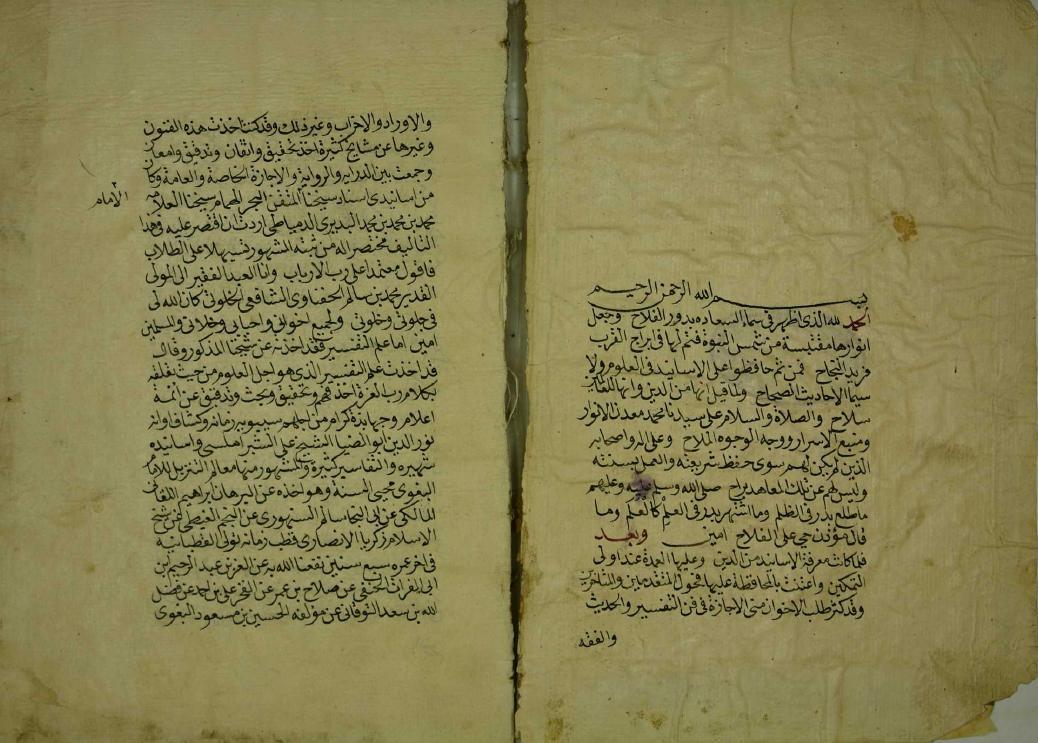 ثبت الشيخ شمس الدين محمد بن سالم الحفني الشافعي
