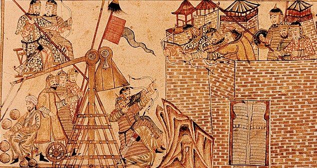 من معارك المغول