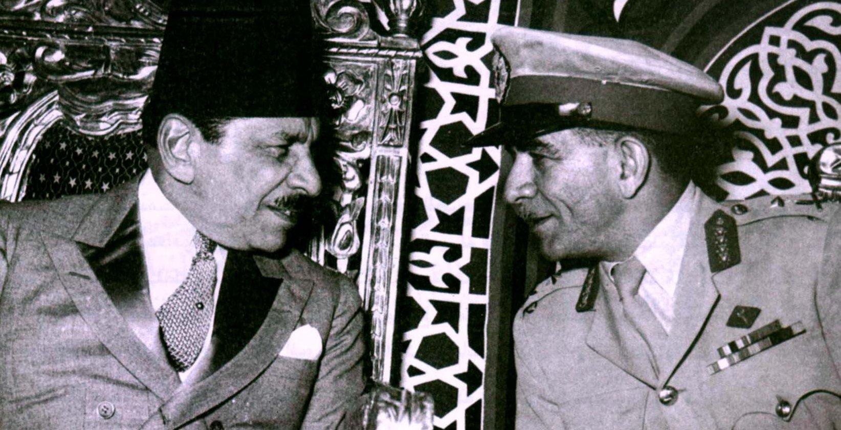محمد نجيب و علي ماهر بعد 23 يوليو