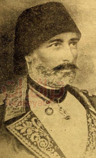 مصطفى مطاوش قائد البحرية المصرية في حرب المورة