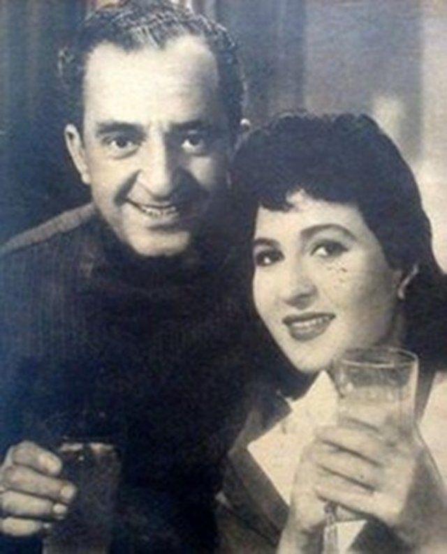 نعيمة عاكف وحسين فوزي