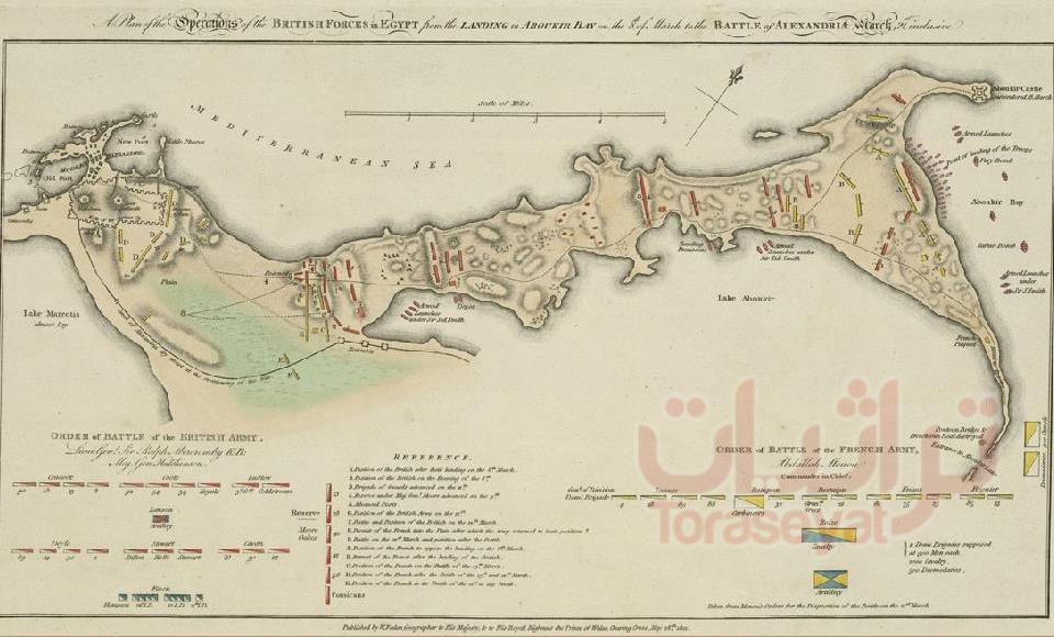 الإسكندرية سنة 1801 م