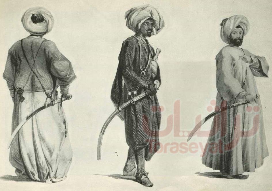 الجنود المصريين بعصر محمد علي في سوريا سنة 1830