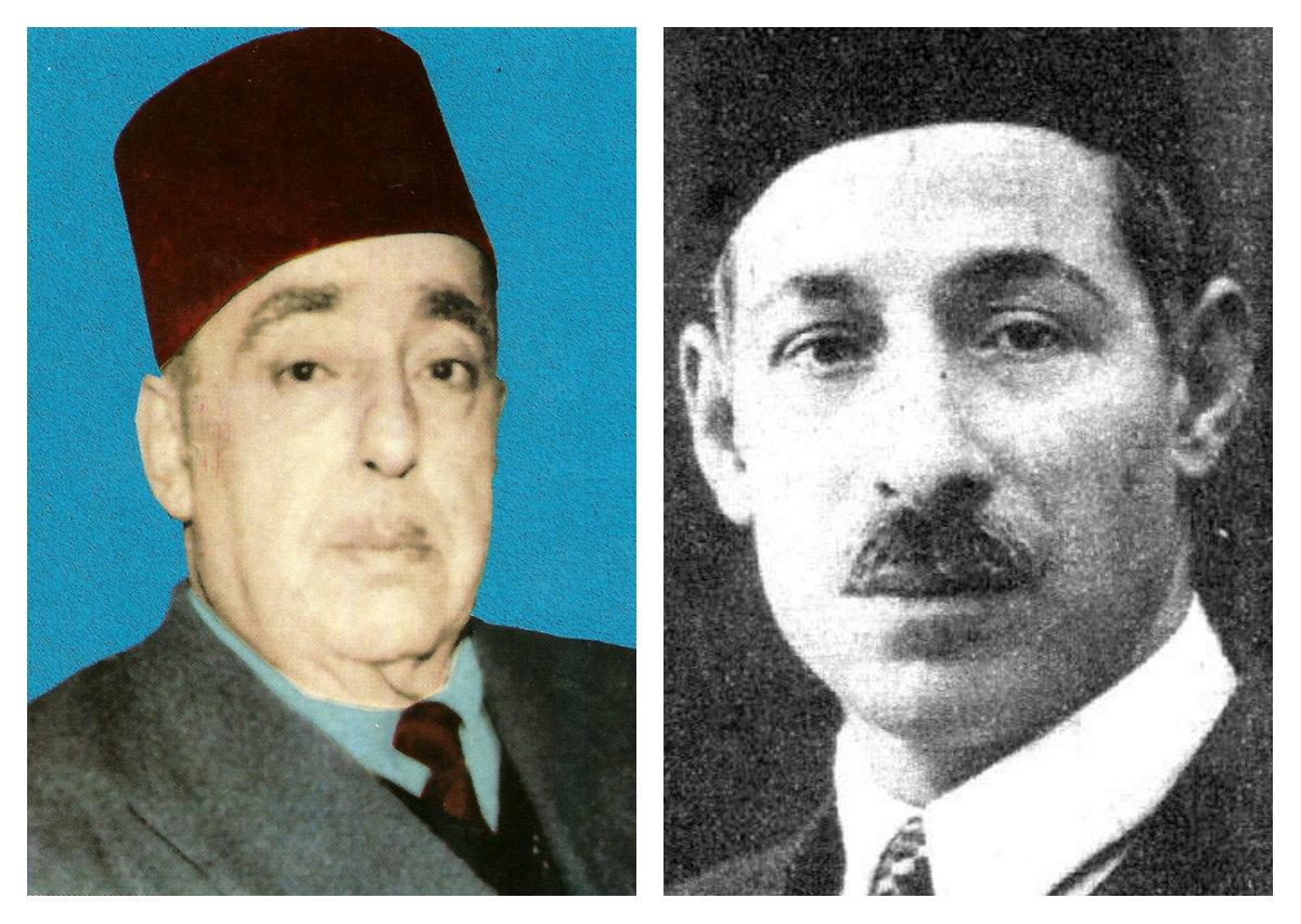 مصطفى صادق الرافعي و أحمد خير الدين