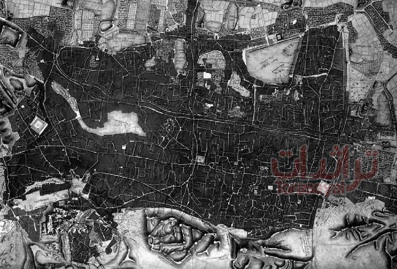 تخطيط القاهرة سنة 1800 م