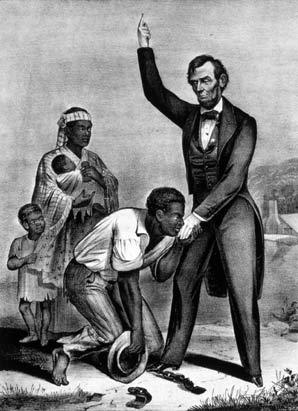 أبراهام لنكولن و العبيد