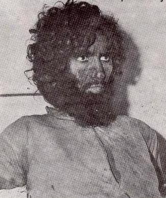 جهيمان العتيبي بعد القبض عليه