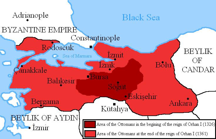 الدولة العثمانية في عصر أورخان