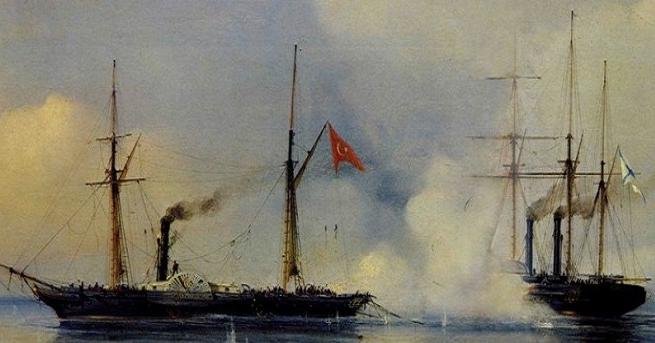 سفينة تركية مصرية في الحرب
