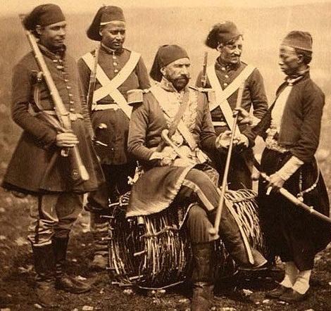قادة القوات المصرية المشاركة في الحرب العثمانية الروسية