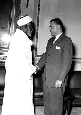 عبدالناصر و عبدالرحمن المهدي