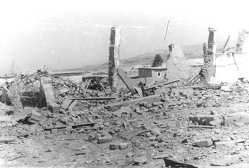 قرية الكرامة بعد المعركة