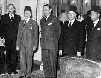 مباحثات الوفد و انجلترا 1950-1951