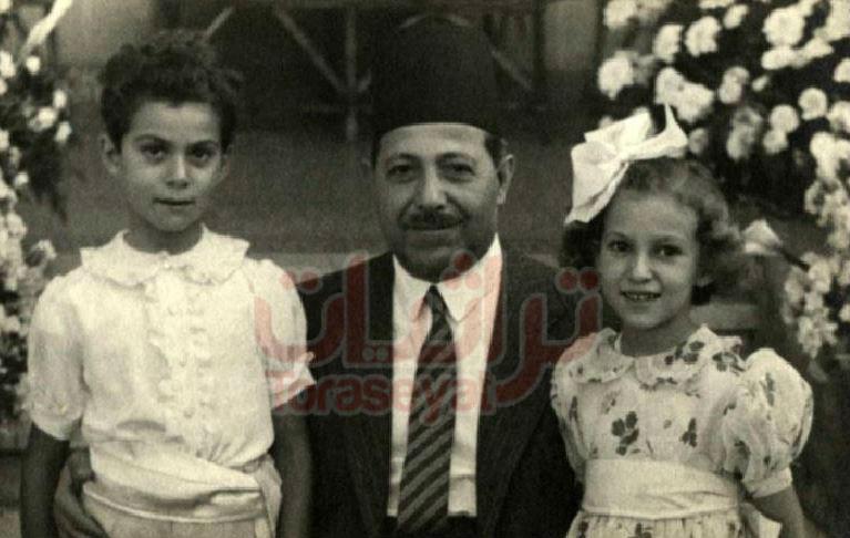 النقراشي بين بنته صفية و ابنه هاني