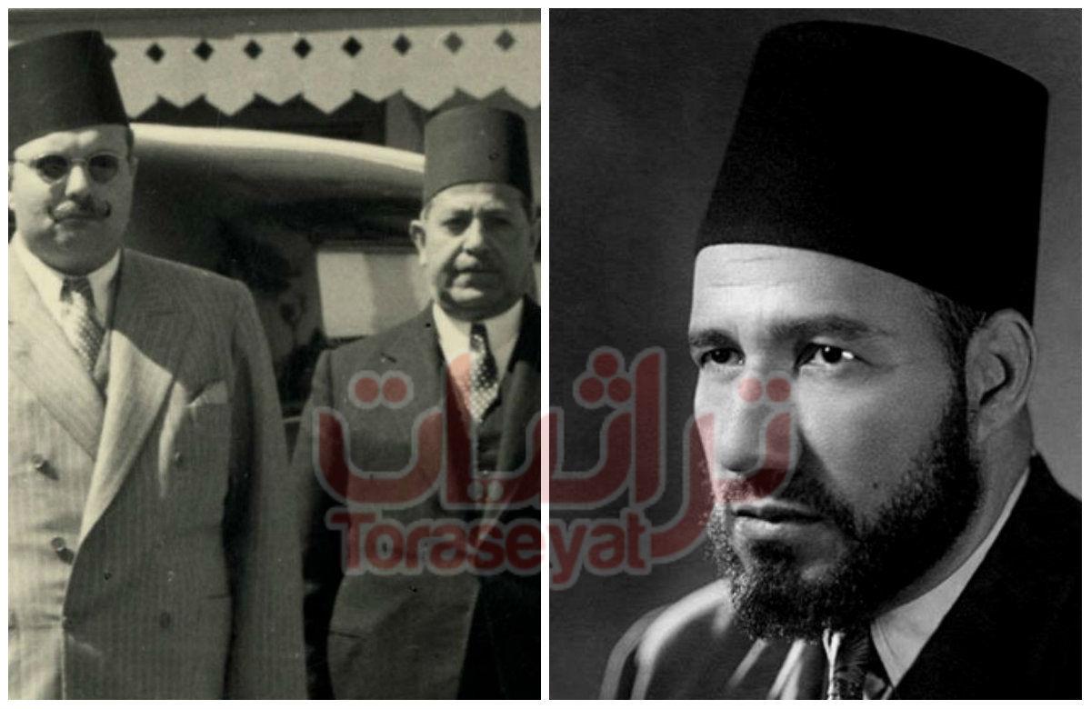حسن البنا و الملك فاروق والنقراشي