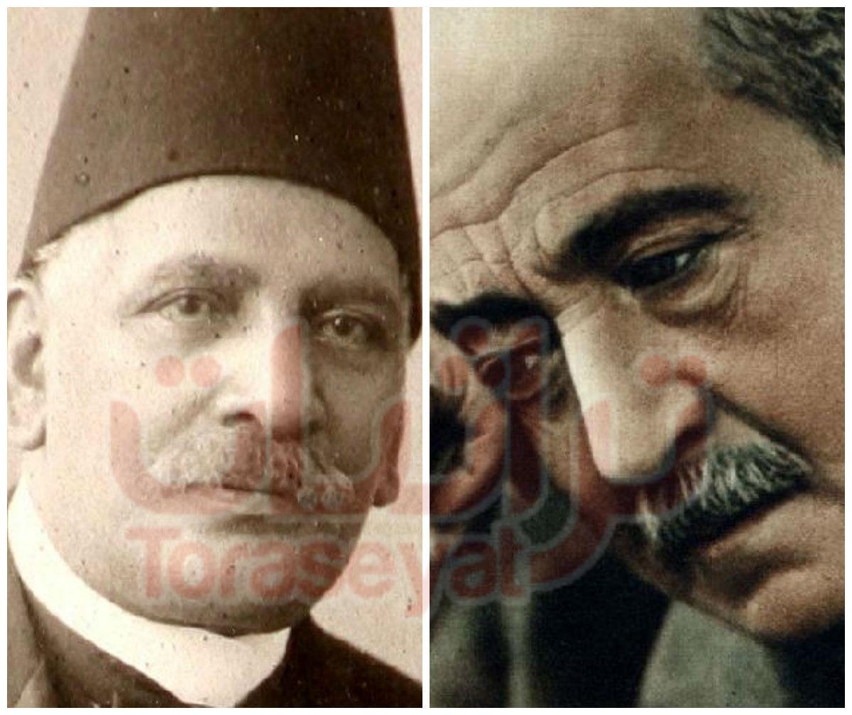 أحمد شوقي - بطرس غالي