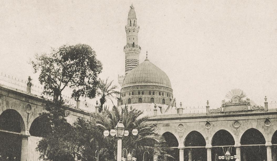 المسجد النبوي - صورة نادرة