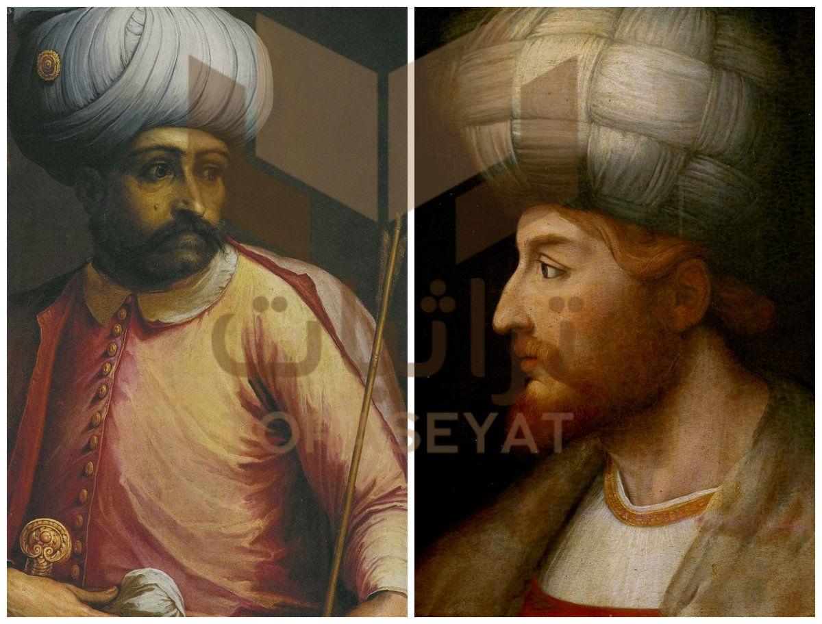 إسماعيل الأول و سليم القاطع قادة معركة جالديران