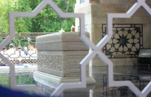 قبر الإمام البخاري