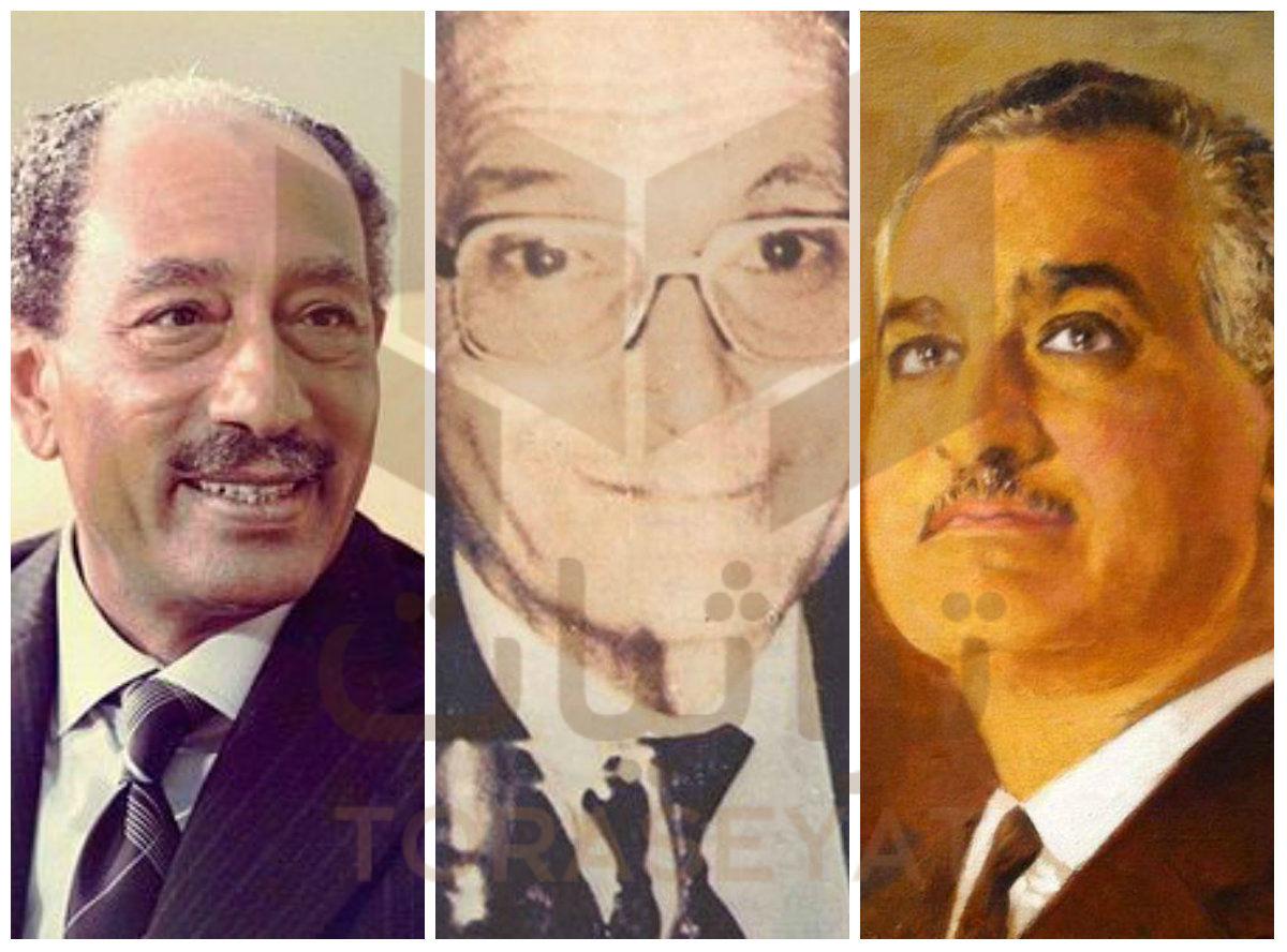 جمال عبدالناصر و رأفت الهجان و السادات