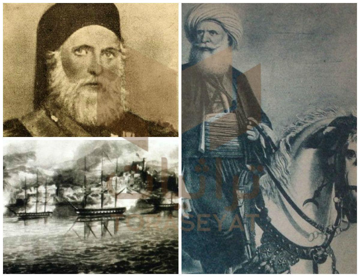 محمد علي و إبراهيم باشا و حرب عكا
