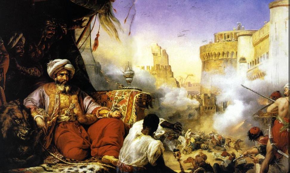 محمد علي يشاهد مذبحة القلعة