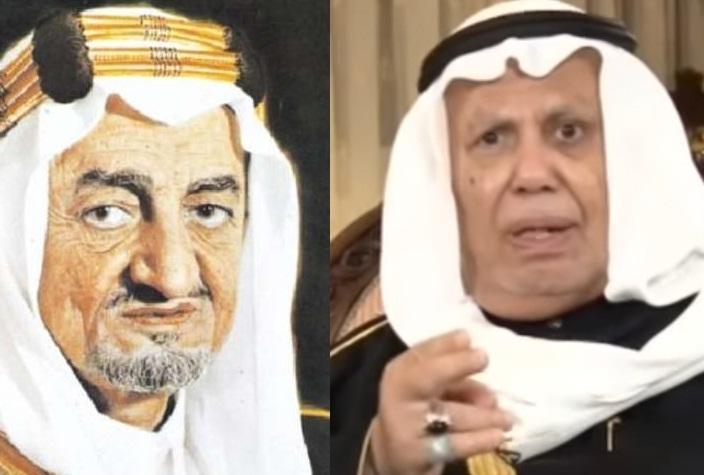 عبدالمطلب الكاظمي والملك فيصل