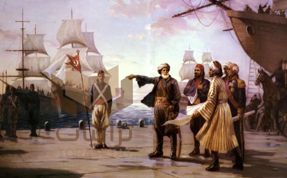 محمد علي يتفقد دار السفن