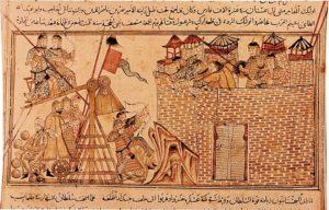 ضرب المغول حصار على المدن والقلاع.