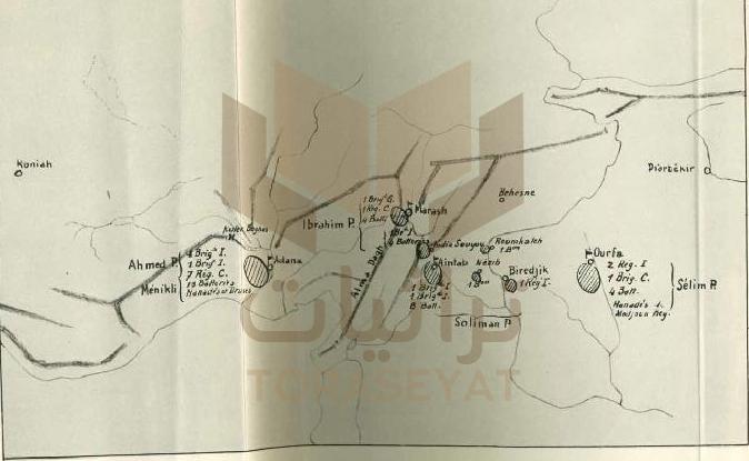 وضع الجيش المصري سنة 1838