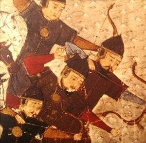 محاربين مغول