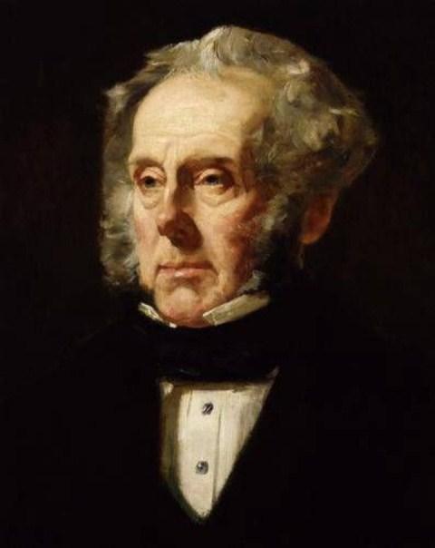 """جون تيمبل المعروف بـ """"اللورد بالمرستون"""" رئيس وزراء بريطانيا"""