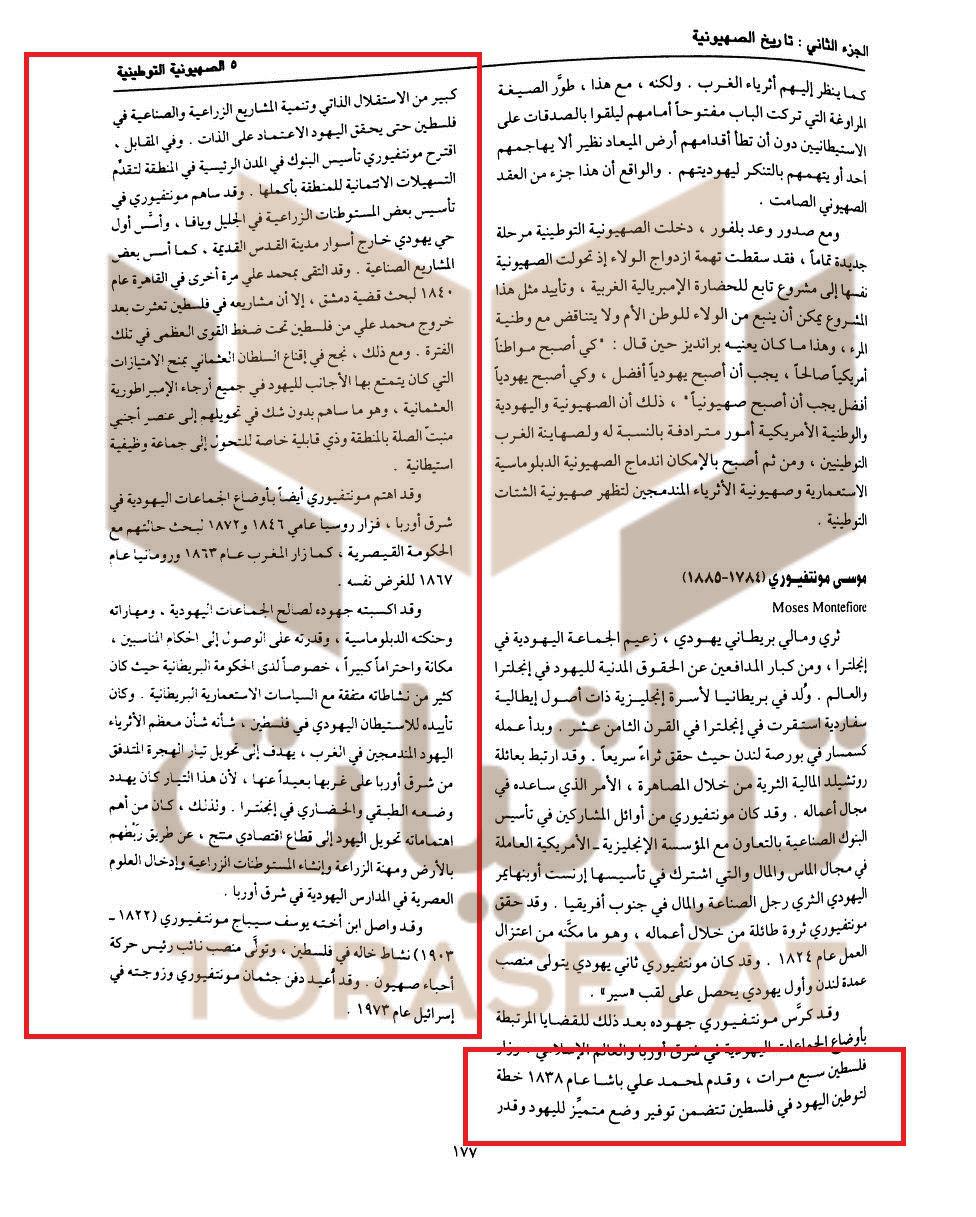 موسوعة اليهود واليهودية والصهيونية لـ د.عبد الوهاب المسيري ط1 القاهرة دار الشروق، 1999م ، الجزء السادس ص 177