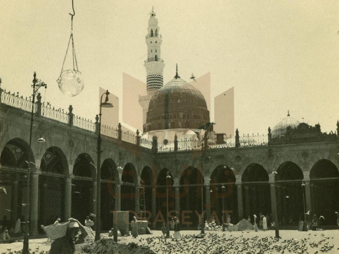 أعمال التطوير داخل المسجد النبوي