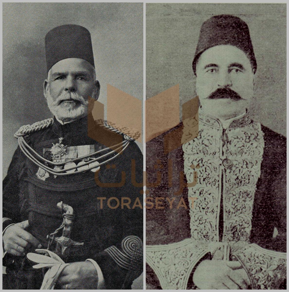 محمد صادق بيه و إبراهيم باشا رفعت
