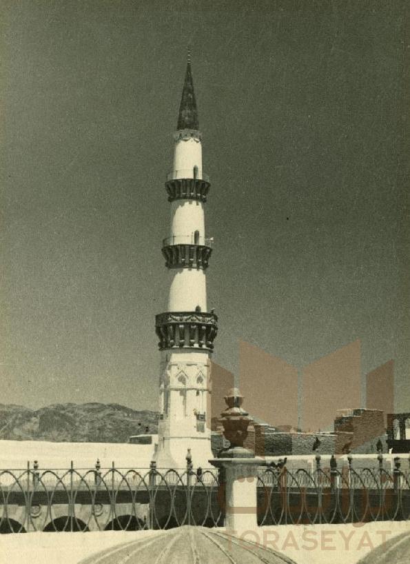 منارات المسجد النبوي الشريف