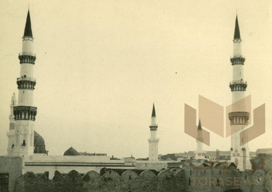 منارات المسجد النبوي