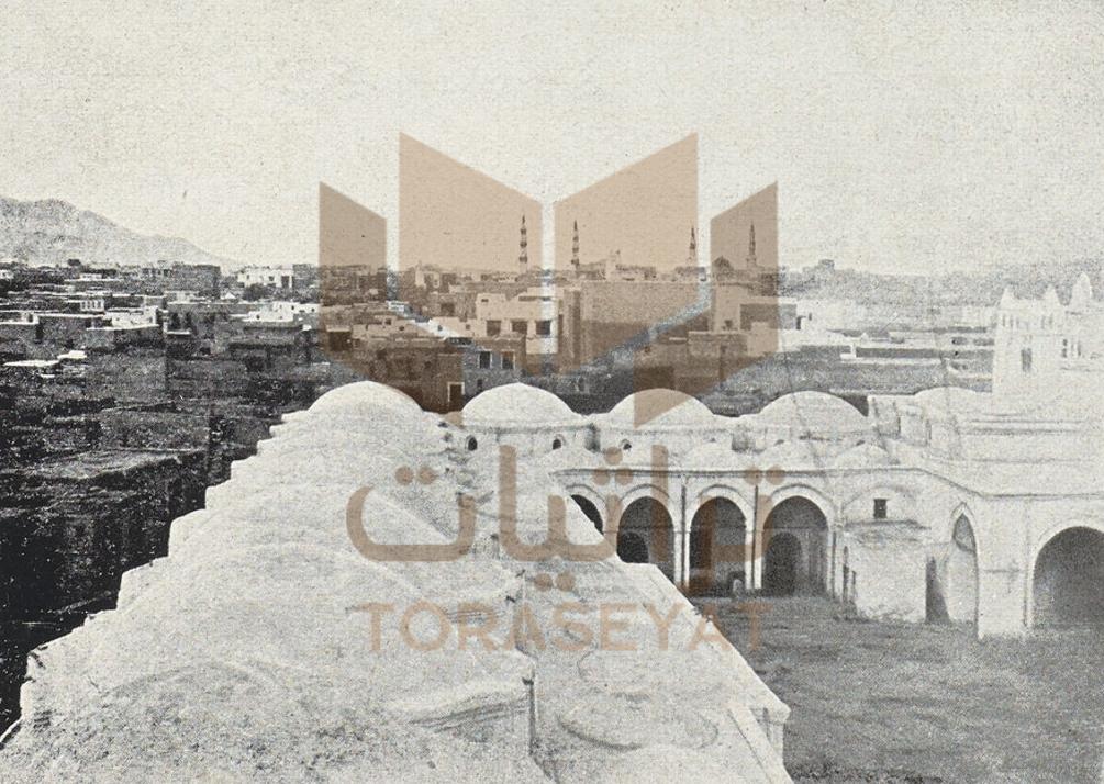 المدينة المنورة من تكية محمد علي باشا