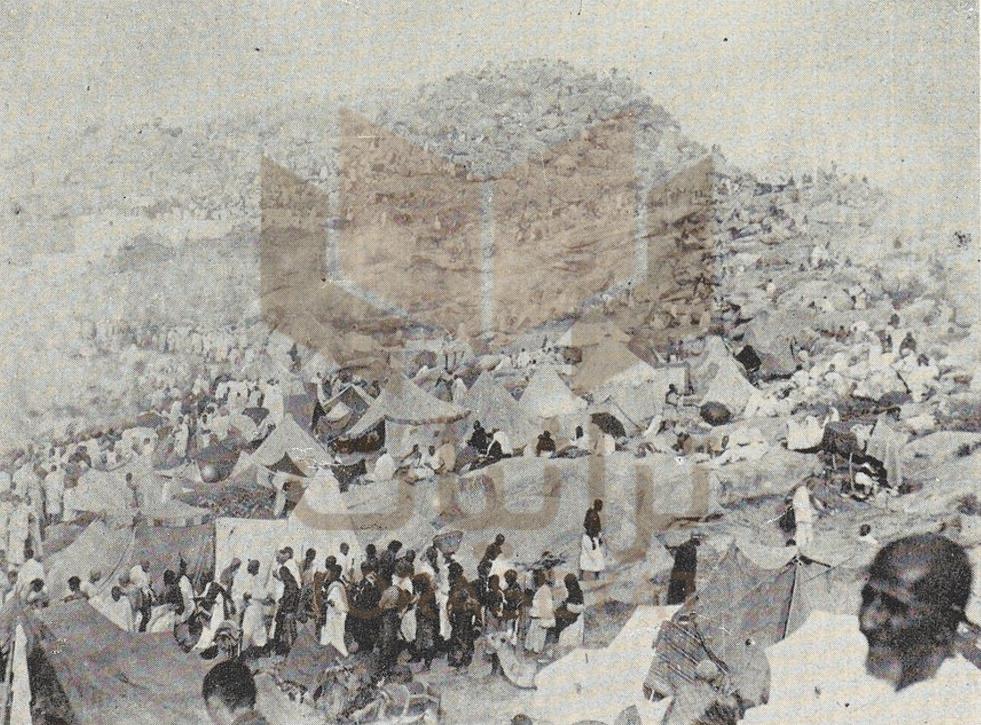 الحجاج في عرفات