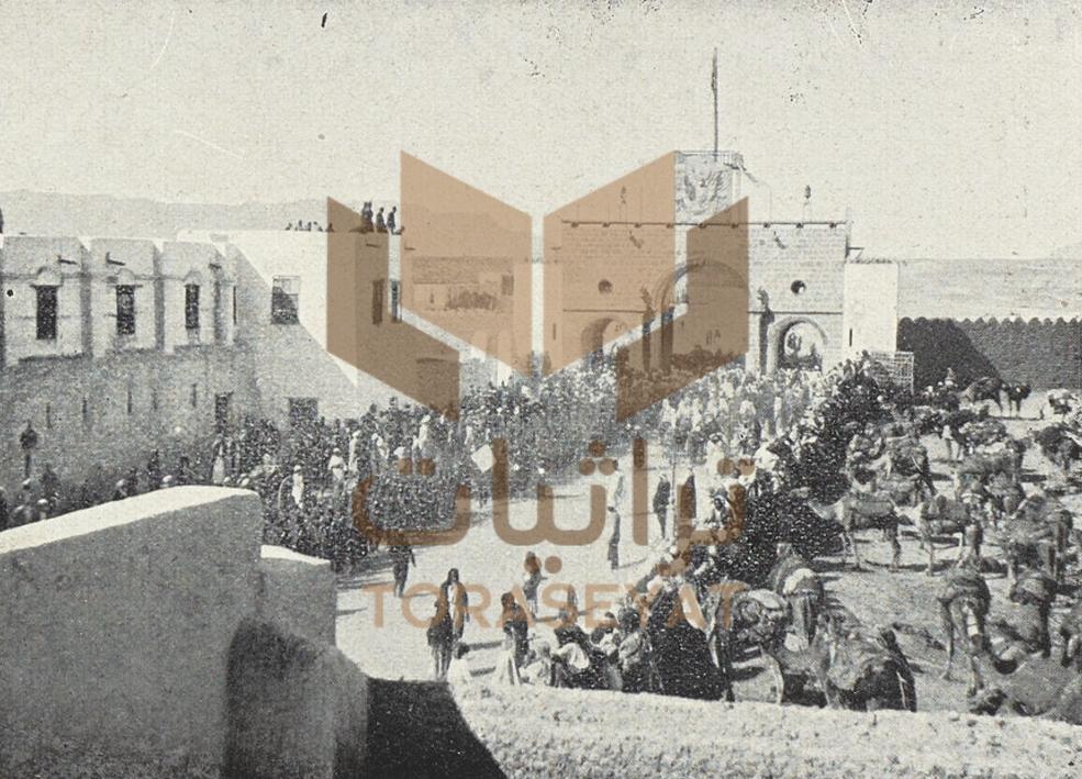 المحمل المصري على مشارف المدينة المنورة
