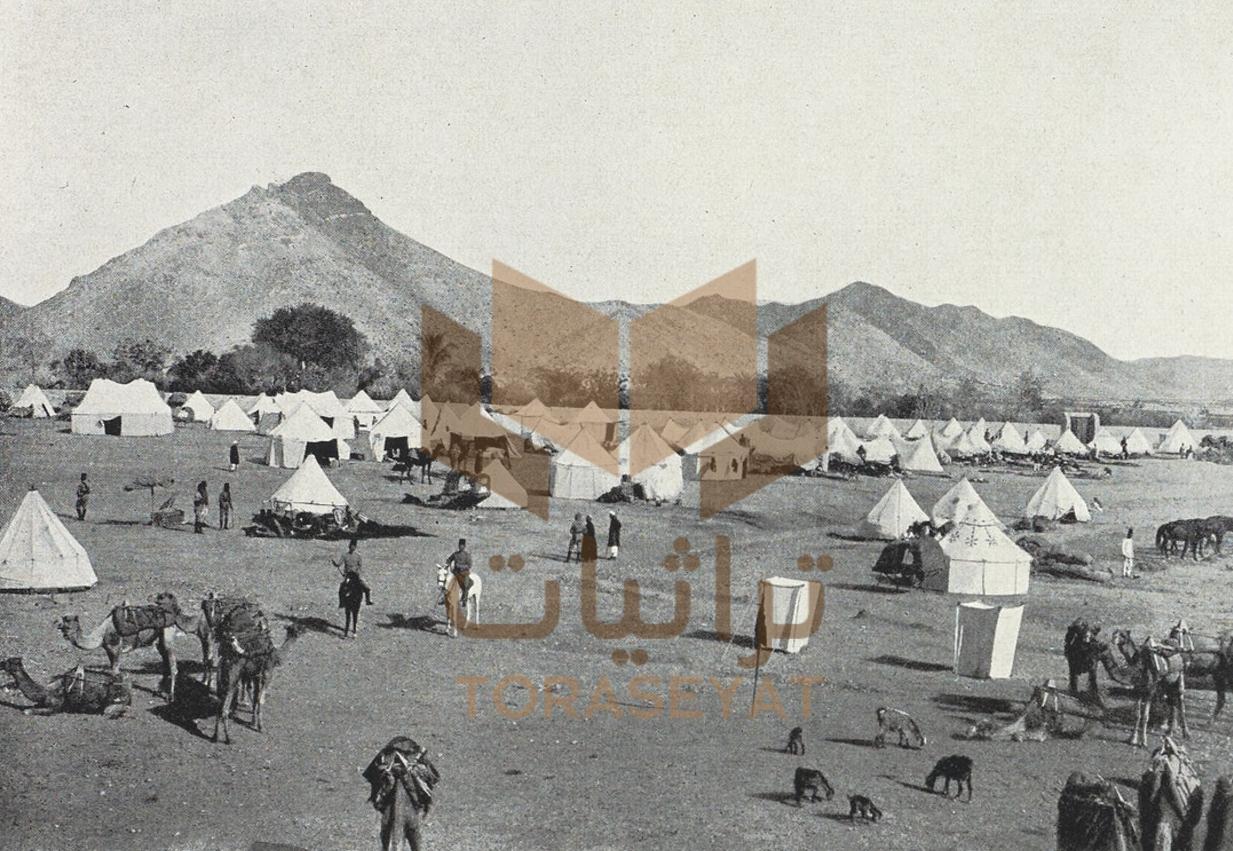 معسكر المحمل المصري في مكة