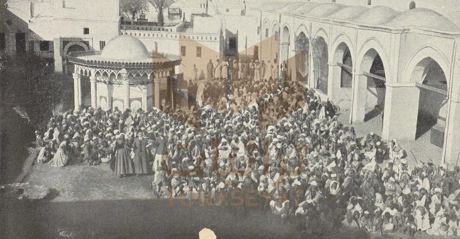عابري السبيل في تكية الباشا محمد علي بالمدينة المنورة