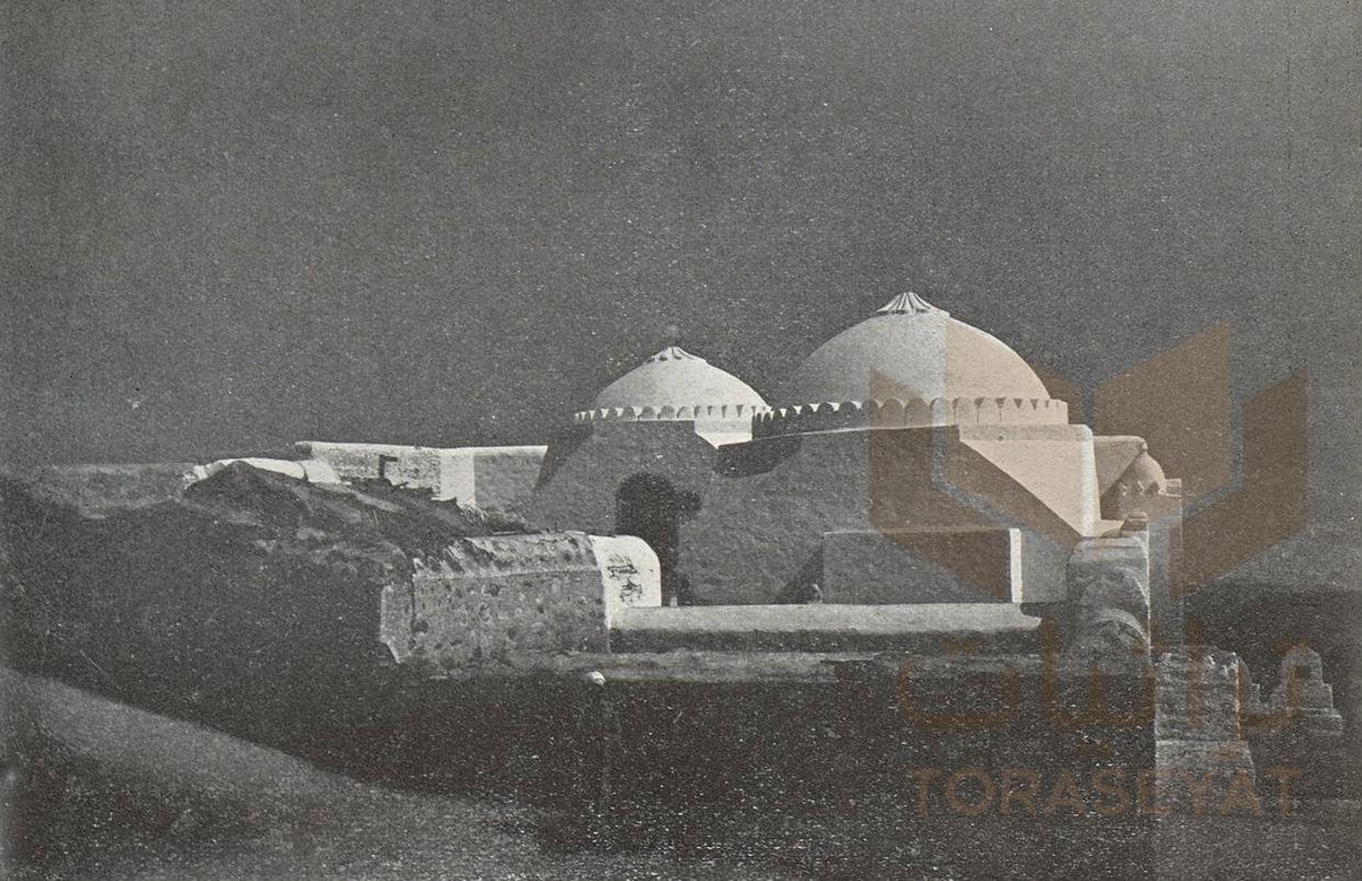 قبر عبدالمطلب وعبدمناف جدي النبي بصحبة قبة عمه أبو طالب